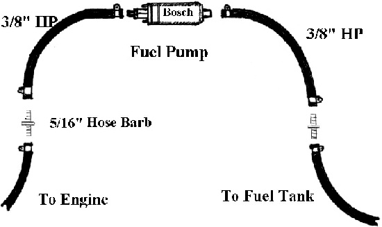 walbro fuel line diagram  - 100 images